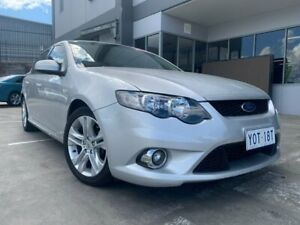 2010 Ford Falcon FG XR6 Silver 5 Speed Sports Automatic Sedan Fyshwick South Canberra Preview