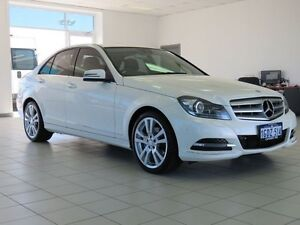 2013 Mercedes-Benz C250 W204 MY13 CDI Avantgarde BE White 7 Speed Automatic G-Tronic Sedan Morley Bayswater Area Preview