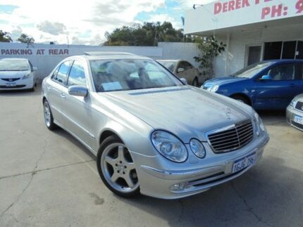 2003 Mercedes-Benz E500 W211 Avantgarde Silver 5 Speed Sports Automatic Sedan