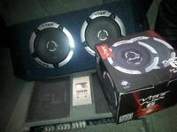 FLI AMP 900,MEDIUM SIZE BOX WITH NEW SPEAKERS