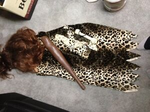 Cave woman costume for sale.