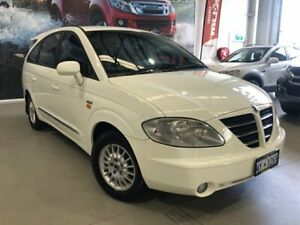 2005 Ssangyong Stavic A100 SV270 Sports Plus AWD White 5 Speed Automatic Wagon Rockingham Rockingham Area Preview