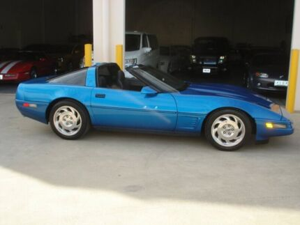 1987 Chevrolet Corvette C4 Blue Automatic Coupe Brompton Charles Sturt Area Preview