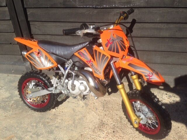 brand new** 50cc kids motorbike.based on a ktm 50 junior - 2