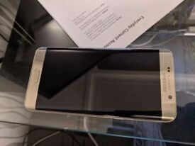 Samsung S6 Edge Plus Gold ( Unlocked ) + more