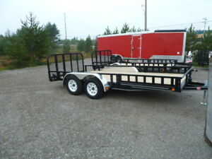 NEW 2018 P.J. Utility Trailer 16ft. & 14ft.