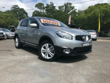 2013 Nissan Dualis J10 MY13 TS (4x2) Silver 6 Speed Manual Wagon Sutherland Sutherland Area Preview