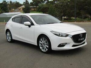 2017 Mazda 3 BN5436 SP25 SKYACTIV-MT White 6 Speed Manual Hatchback Murray Bridge Murray Bridge Area Preview