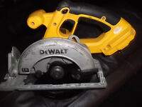 DEWALT 18 volt circular saw (BODY ONLY)