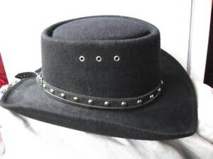 Western Hat Black colour like new 30$