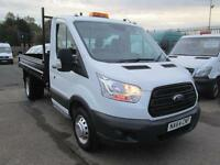 Ford Transit T350 Single Cab Tipper 125ps New Shape DIESEL MANUAL WHITE (2014)