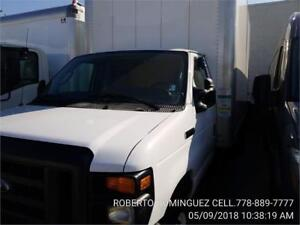 2017 Ford Econoline Commercial Cutaway 16 FT BOX POWER LIFTGATE