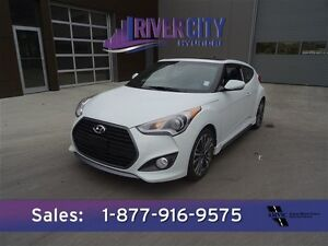 2016 Hyundai Veloster TURBO Navigation (GPS),  Leather,  Heated  Edmonton Edmonton Area image 1