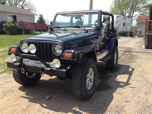 1998 Jeep TJ 2 toit tres clean