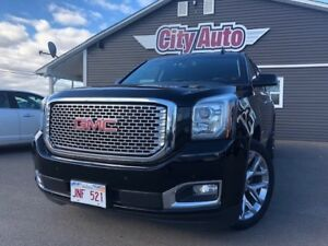 2016 GMC Yukon XL Denali   Black Leather  Sunroof  7 Passenger