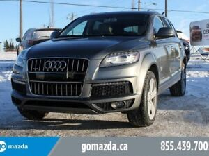 2015 Audi Q7 3.0T Sport FULL LOAD 7 PASS NEW TIRES 1 OWNER ACCI