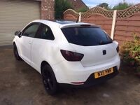 2011 SEAT IBIZA SE COUPE SPORT WHITE (LOW MILEAGE) FULL SERVICE HISTORY CHEAP MUST SEE / VIEW