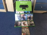 Xbox one 500GB Very good condition, only been used a few times. all been wiped.