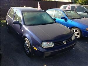 2004 Volkswagen Golf GL mint condition (NO TAX)