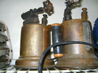 TWO OLD BLOW TORCHES