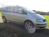 2006 (55) Seat Alhambra 1.9TDI PD Stylance 7 Seater