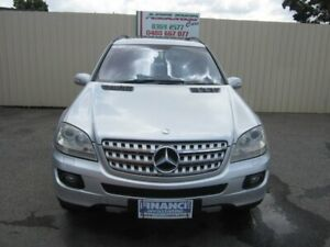 2007 Mercedes-Benz ML320 CDI W164 4x4 Cubanite Silver 7 Speed Automatic G-Tronic Wagon Windsor Gardens Port Adelaide Area Preview