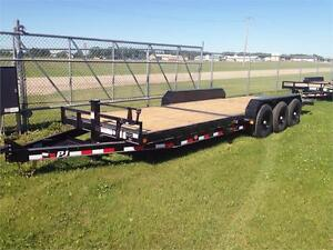 "24' x 6"" Tripple Axle, Equipment Tilt Trailer, 14K GVWR (T6J)"