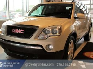 2010 Gmc Acadia SLE2: AWD, DVD, CAPTAINS CHAIRS, 7 PASSENGER!