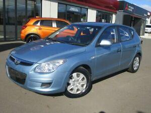 2010 Hyundai i30 FD MY10 SX Blue 5 Speed Manual Hatchback Goulburn Goulburn City Preview