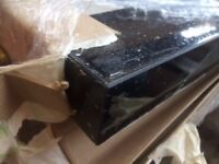 Black Sparkle kitchen Worktop - Brand New 3 mtr with SQUARE front edge