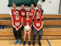 Social Netball Leagues - Start playing straight away!
