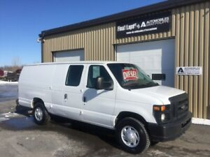 2008 Ford Econoline 350 ALLONGÉE Diesel clean