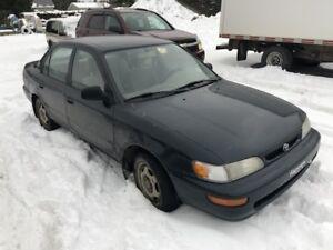 1996 Toyota Corolla De base