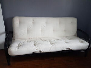 Comfy White Futon