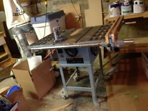 "King 10"" Table Saw with large surface"