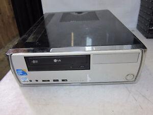 Slim Small Intel E8400 3GHz Core 2 Duo Quad Win 10 PC Warranty