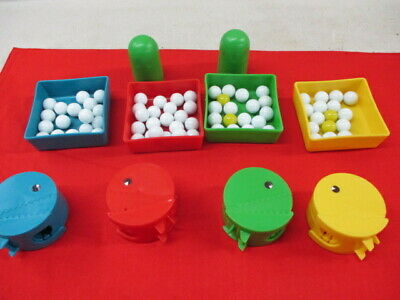 Lot of Vintage Original Pac Man Board Game Pieces Parts Marbles 1980s (JH)