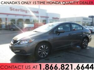 2015 Honda Civic Sedan EX | 1 OWNER | NO ACCIDENTS