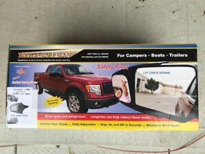 F150 custom fit towing mirrors