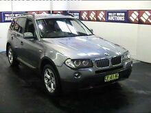 2008 BMW X3 E83 MY09 xDrive 20D Lifestyle Grey 6 Speed Steptronic Wagon Cardiff Lake Macquarie Area Preview