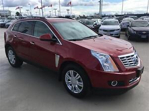 2014 CADILLAC SRX just 10.500 km red with black leather