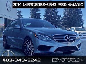 2014 Mercedes-Benz E-Class E550 NO ACCIDENTS 2 SET OF WHEELS!