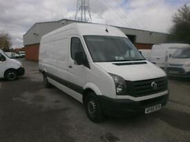 Volkswagen Crafter CR35 LWB 2.0 TDI 136PS High Roof EURO 5 DIESEL WHITE (2015)