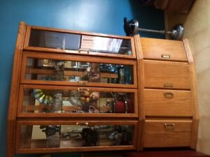 For sale-oak China Cabinet