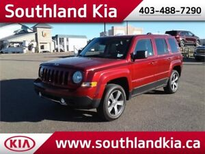 2016 Jeep Patriot High Altitude 4x4 **LEATHER-SUNROOF**