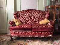 GREAT CONDITION! TWO GORGEOUS SOFAS FOR SALE! TWO DOUBLE AND TWO SINGLE SEATED ARMCHAIRS