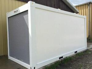 STRONG-STOR MOBILE STORAGE UNITS ~ steel-frame, roll-up door