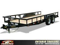 Big Tex 14PI Heavy Duty Pipe Tandem Axle