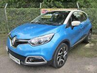 Renault Captur 1.5 Dynamique S MediaNav DCi 90 Turbo Diesel Energy 5DR (tahoe blue/ivory) 2014