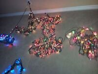 CHRISTMAS LED LIGHTS AND NETS ALL COLOURS XMAS TREE LIGHTS